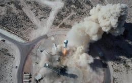 Blue Origin envia ossos de dinossauros ao espaço