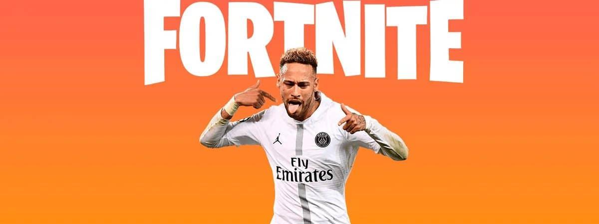 Fortnite: Neymar é confirmado; skin está no Passe de Batalha. Imagem: Epic Games/Divulgação