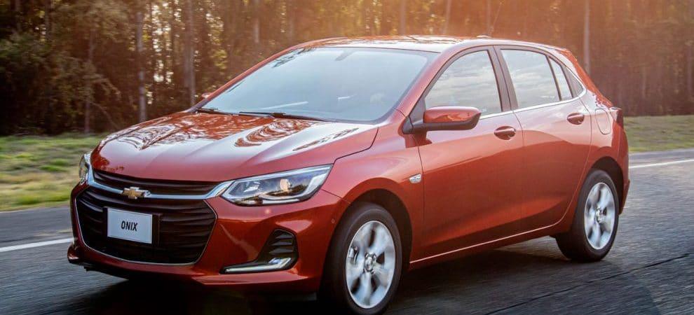 Chevrolet Onix é o carro mais vendido do Brasil pelo sexto ano consecutivo, diz ranking da Renavam. Imagem: General Motors/Divulgação