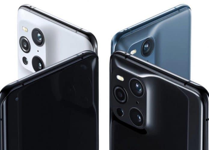 Detalhe das câmeras do Oppo Find X3 Pro