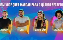 Como votar no BBB 21? Paredão falso tem Arthur, Caio, Carla Diaz e João Luiz