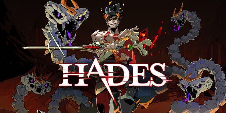 Pôster do jogo 'Hades'. Imagem: Supergiant Games/Reprodução