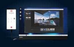 Motorola Edge+ pode se transformar em um computador desktop