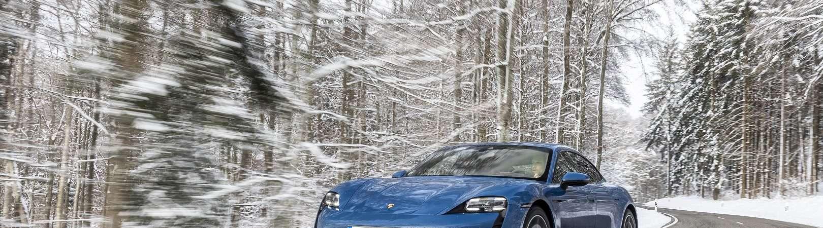 Porsche Taycan. Imagem: Porsche/Divulgação