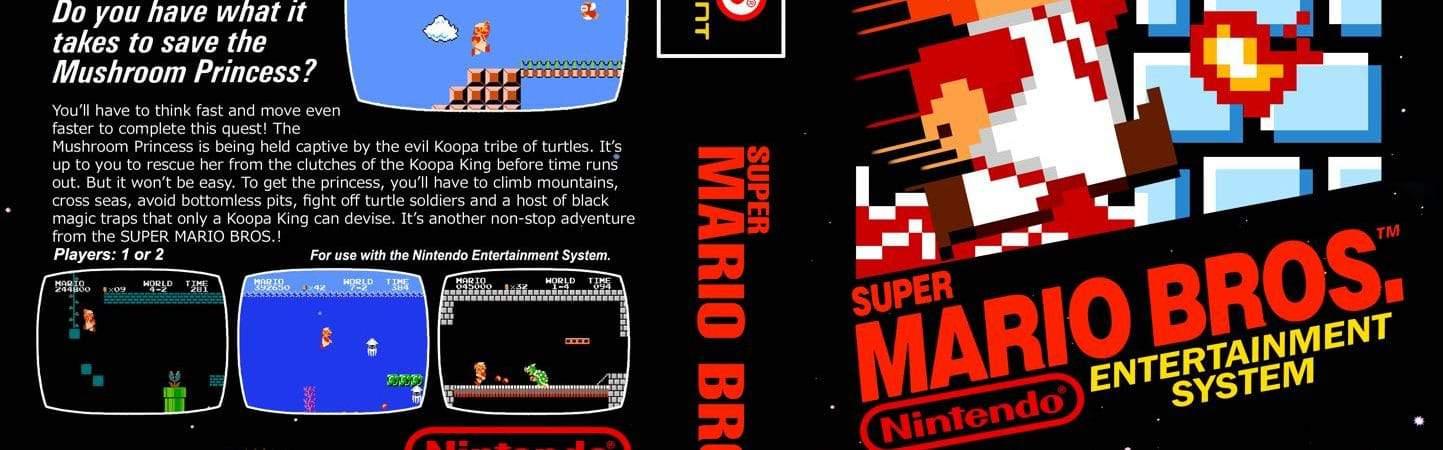 Super Marios Bros. (1986). Imagem: Nintendo Times/Reprodução