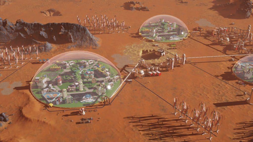 Surviving Mars é jogo grátis da semana na Epic Game Store. Imagem: Paradox Interactive/Divulgação