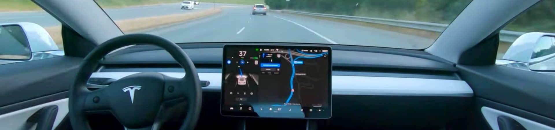 Direção autônoma da Tesla