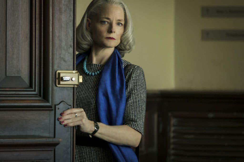 Jodie Foster em 'The Mauritanian'. Imagem: Impuls Pictures/Divulgação
