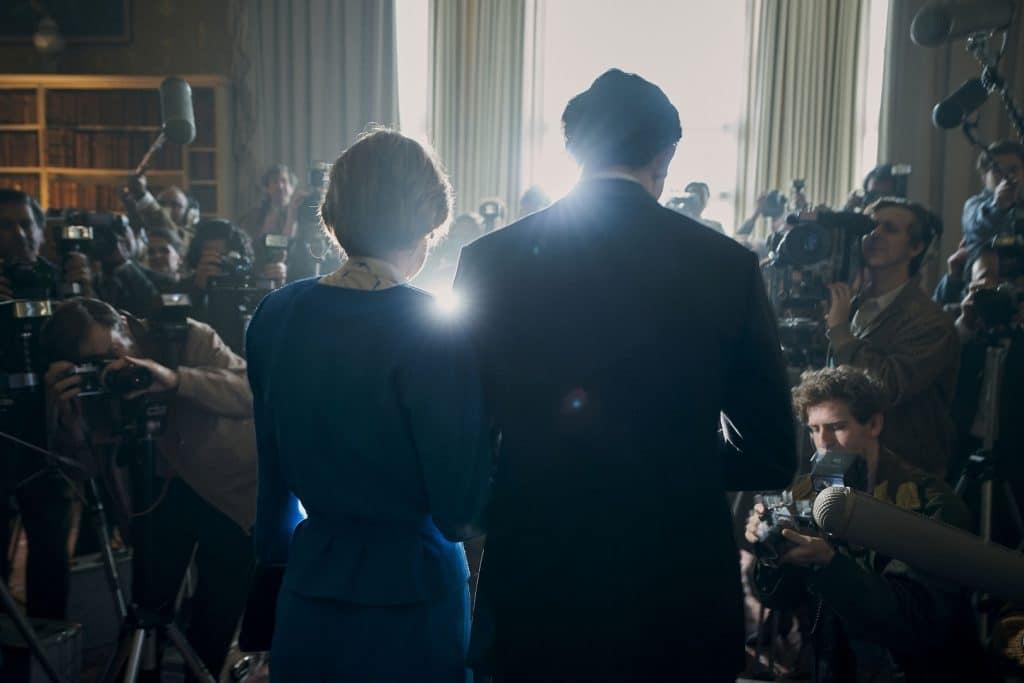 'The Crown'. Imagem: Des Willie/Netflix