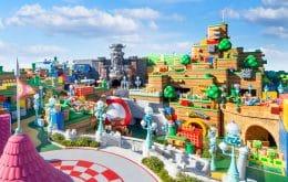 Super Nintendo World abre amanhã no Japão