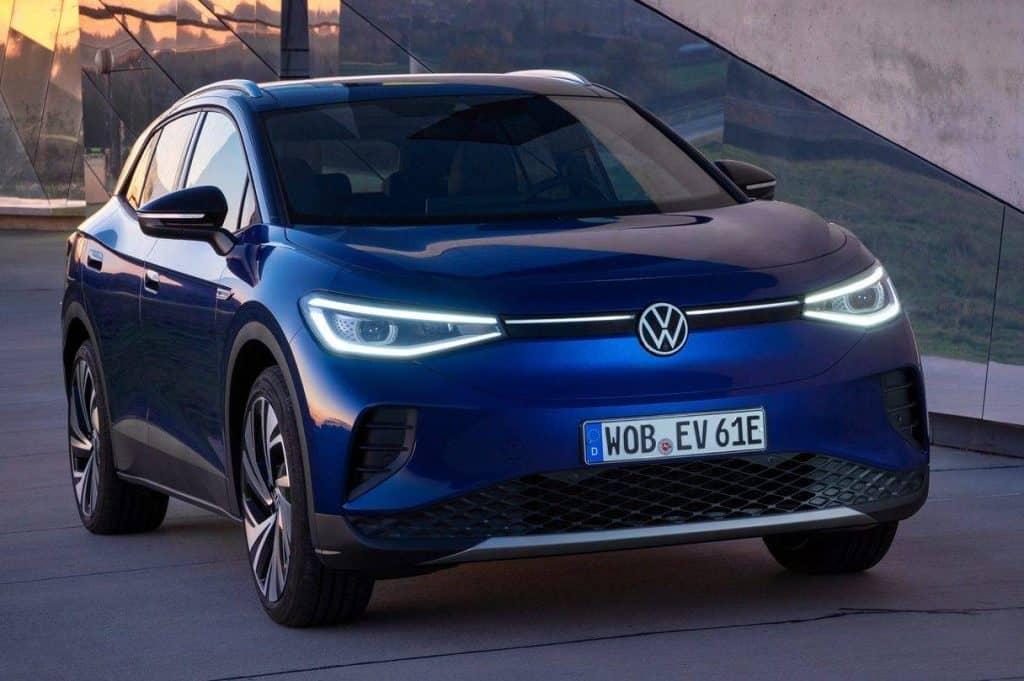 Volkswagen ID.4, SUV elétrico da montadora alemã. Imagem: Volkswagen/Divulgação