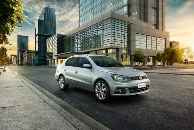 Volkswagen Voyage é o primeiro da lista de carros mais roubados no Brasil em 2020. Imagem: VW/Divulgação