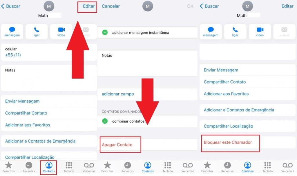 Como excluir contatos bloqueados no WhatsApp. Imagem: Olhar Digital