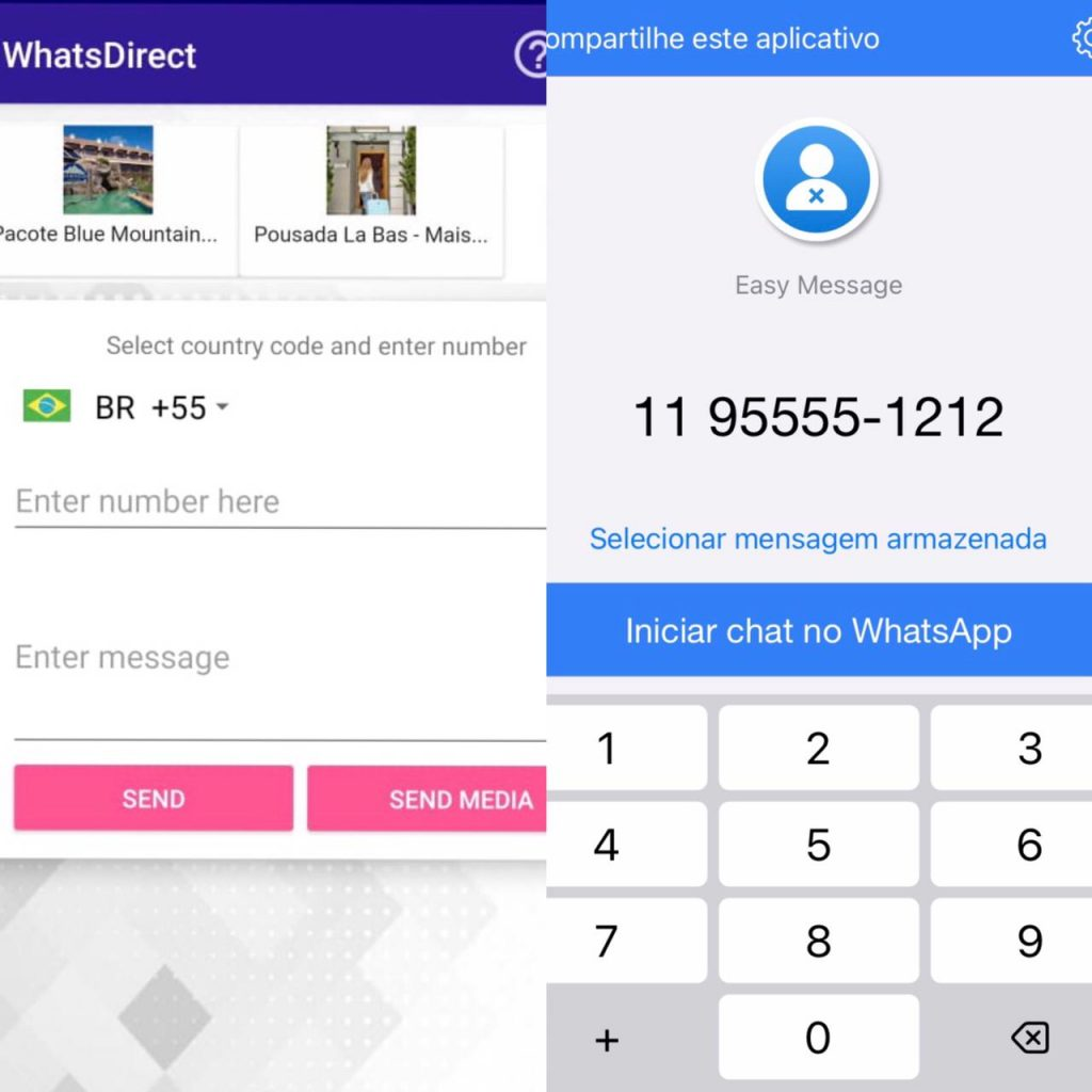 Aprenda a enviar mensagem para contatos sem adicioná-los Imagem: Olhar Digital