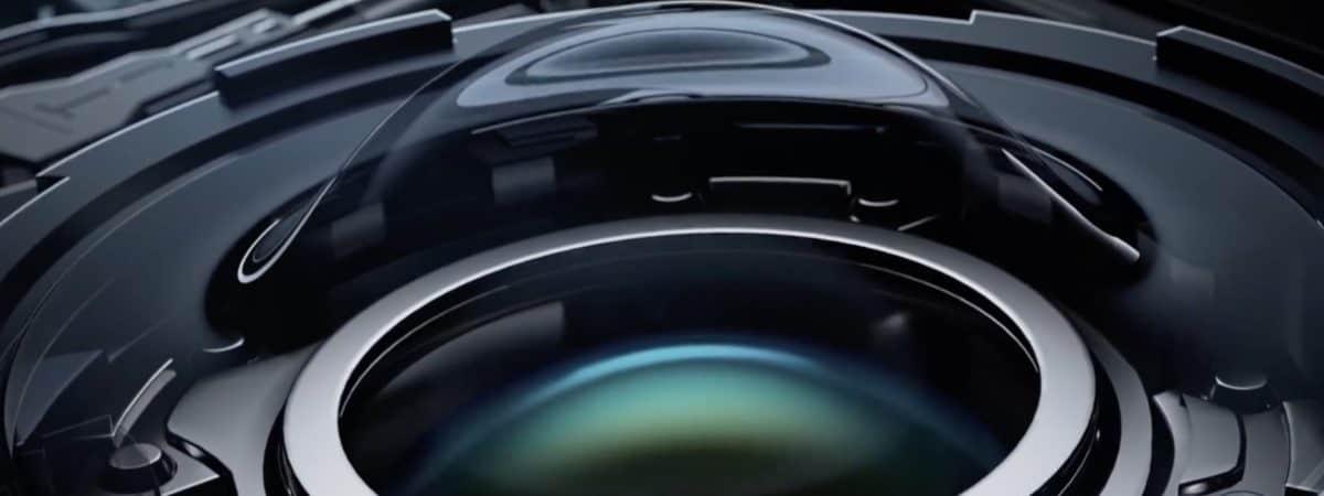 Ilustração da lente líquida da Xiaomi