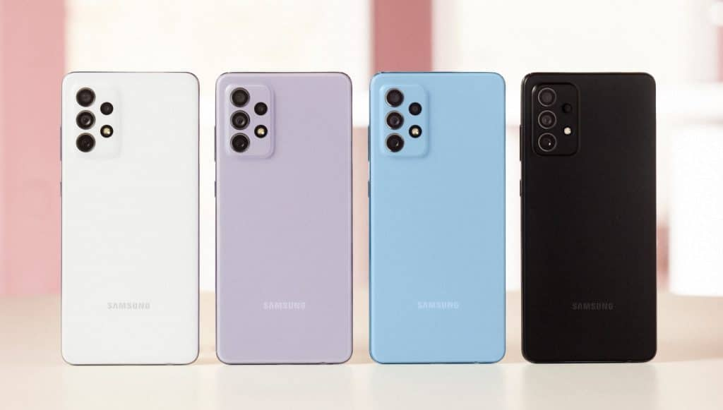 Todas as cores da nova linha Samsung Galaxy A.