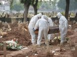 Covid-19: Brasil tem 876 mortes nas últimas 24 horas; total ultrapassa 592 mil