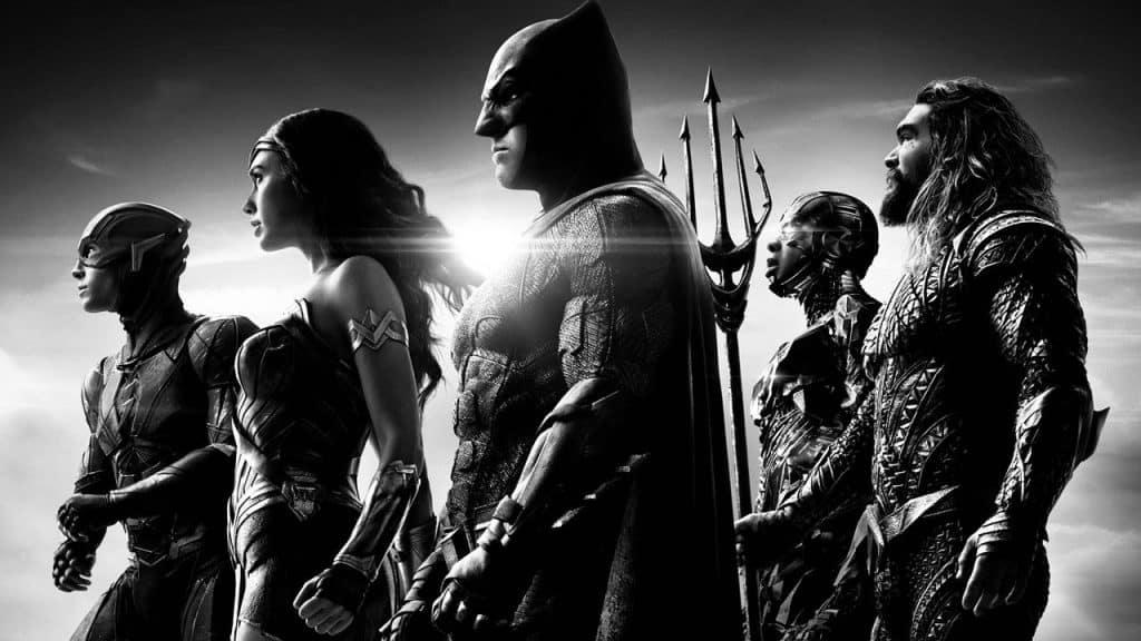 Imagem promocional do 'Snyder Cut', versão do diretor Zack Snyder do filme 'Liga da Justiça'. Imagem: DC Films/Reprodução