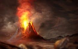 Cientistas dizem que erupções de supervulcões podem ser devastadoras
