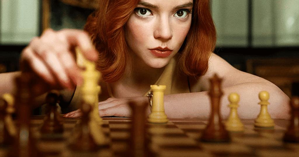 """Imagem de divulgação da série """"O Gambito da Rainha"""""""