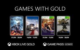 Xbox: Confira os jogos gratuitos de abril no Games with Gold