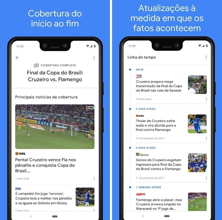 Aplicação Google News