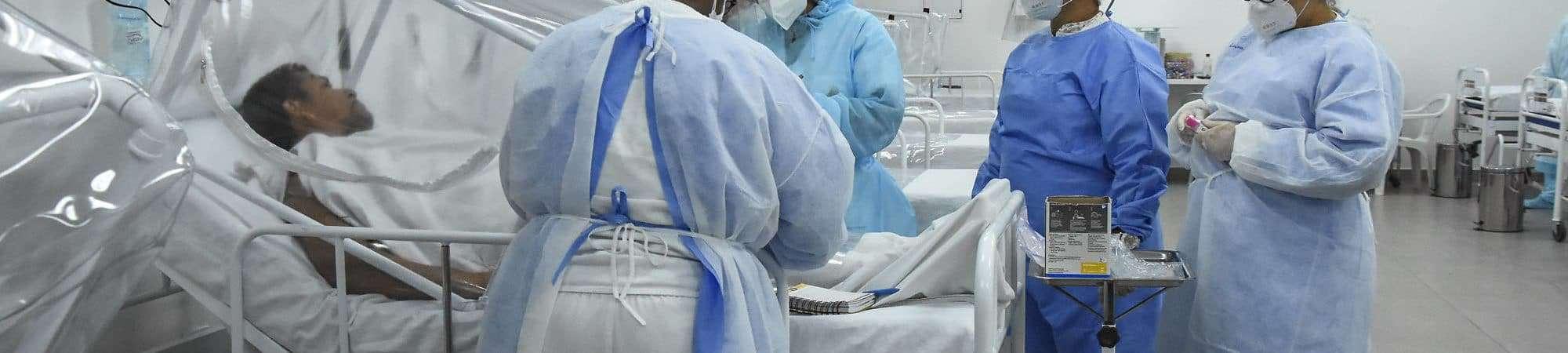 Jovens tem sido mais afetados em nova fase da pandemia e ocupado mais leitos de UTI