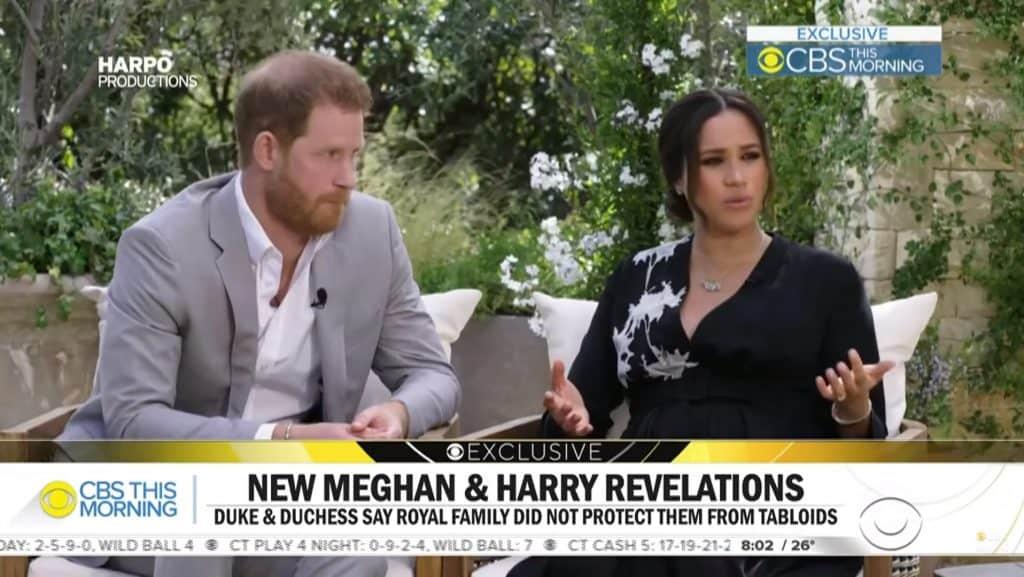 Harry e Meghan deixaram a realeza em janeiro do ano passado.