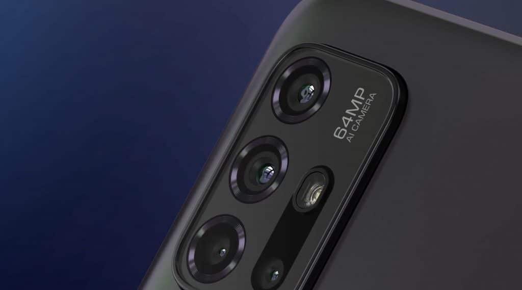 Câmeras do Moto G30 trazem sensor principal de 64 MP, assim como o novo Moto G100.