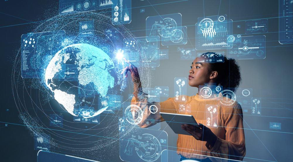 mulher tecnologia