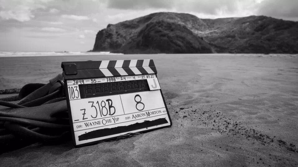 Nova foto do set de filmagens da série de 'O Senhor dos Anéis'. Imagem: Amazon Studios/Reprodução