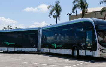 Brazil has the first 100% electric articulated bus