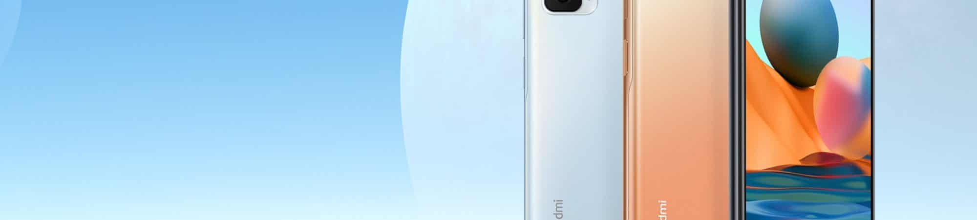 Celular Redmi Note 10 Pro em duas cores