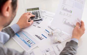 Calcule las facturas de electricidad y agua a través de la aplicación Sustainability