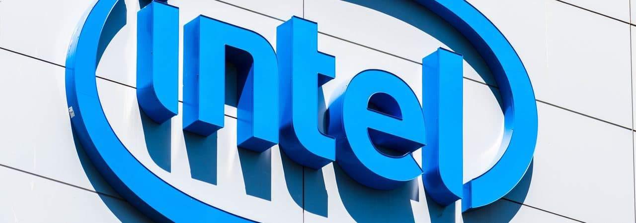 Fachada da empresa Intel