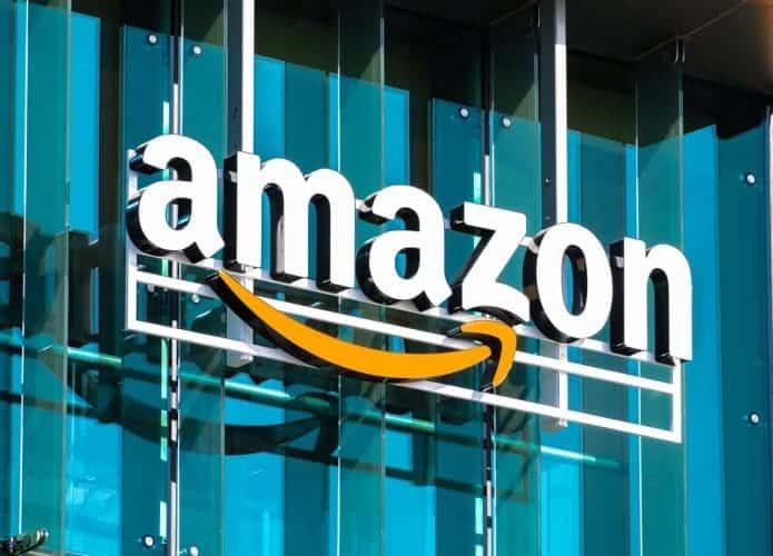 Fachada da empresa Amazon