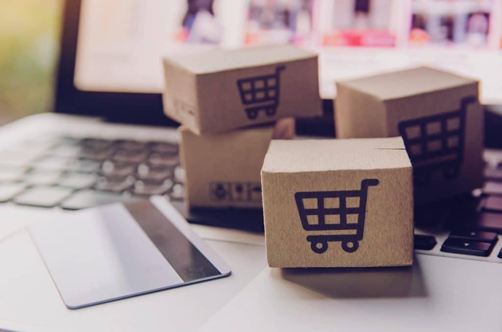 Representação de compras online
