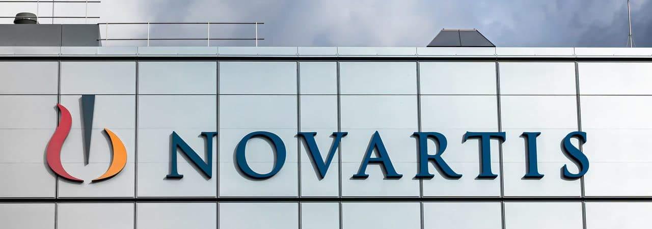 Fachada da farmacêutica Novartis