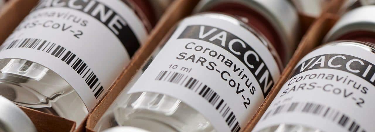 Imagen que muestra varias dosis de vacunas Covid-19