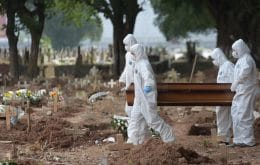Covid-19: Brasil tem 1.656 mortes nas últimas 24h; total ultrapassa 312 mil
