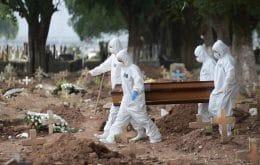 Covid-19: última semana registrou mais mortes do que primeiros 72 dias