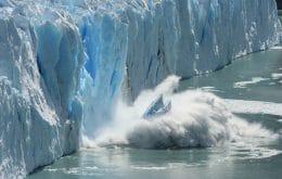 Imagens de satélite mostram aceleração do derretimento de geleiras