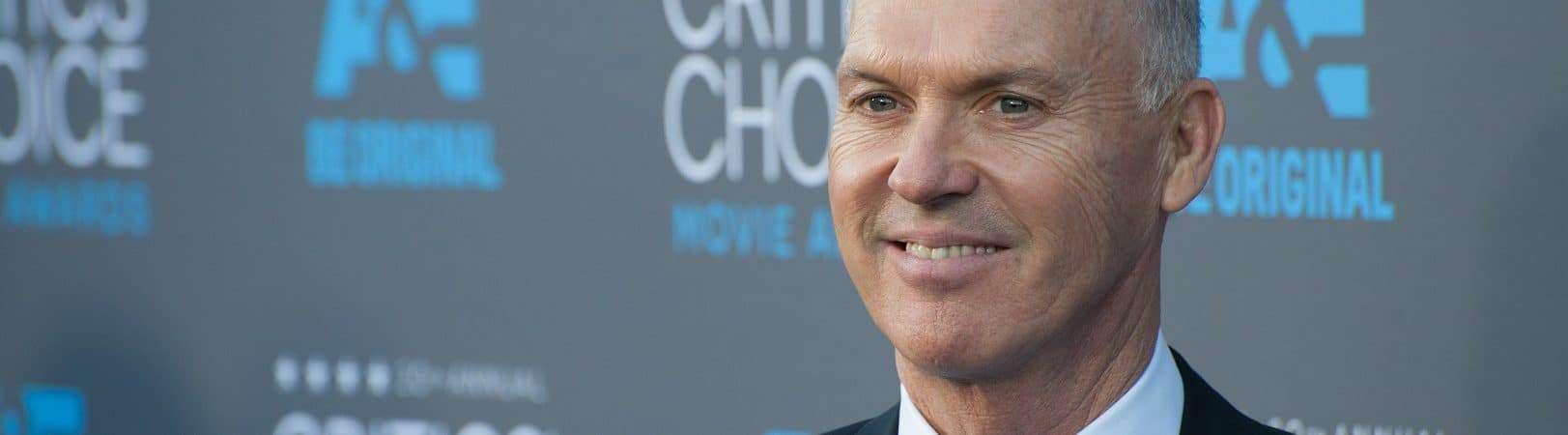 Michael Keaton na 20ª edição do Critics' Choice Movie Awards. Imagem: Featureflash Photo Agency/Shutterstock