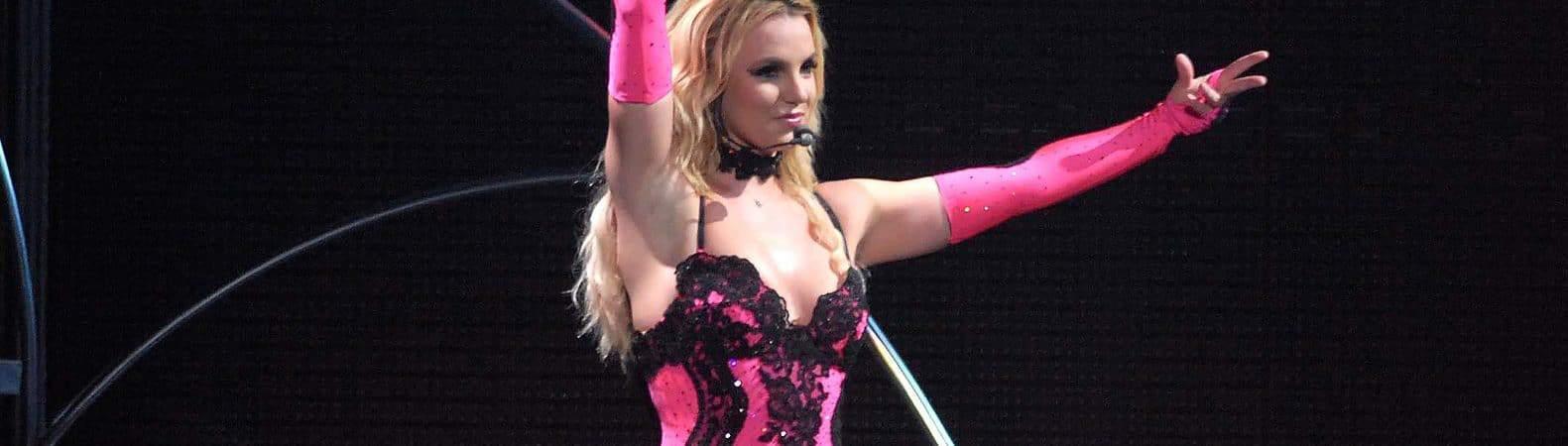 Cantora Britney Spears durante show no Rio de Janeiro, em 2011. Imagem: A.PAES/Shutterstock