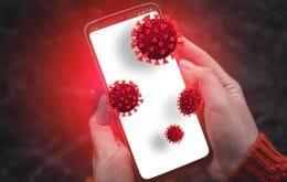 """Pesquisadores criam """"vírus virtual"""" para estudar disseminação da Covid-19"""