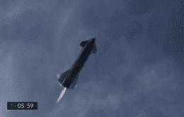 SpaceX: Starship SN10 realiza voo satisfatório, apesar de explosão após pouso