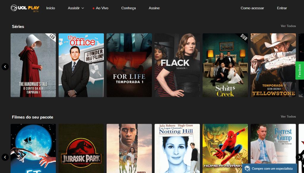 uol play streaming de filmes e séries