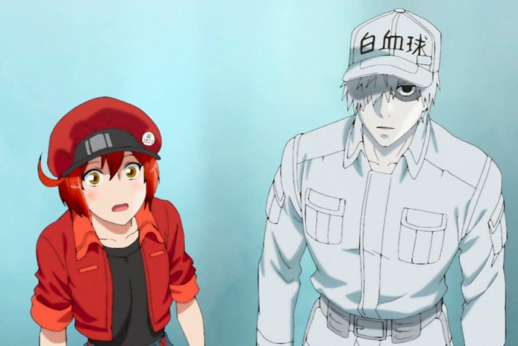 '¡Celdas en el trabajo!' (Hataraku Saibou) también tiene anime y está disponible en Netflix. Imagen: Netflix / Reproducción