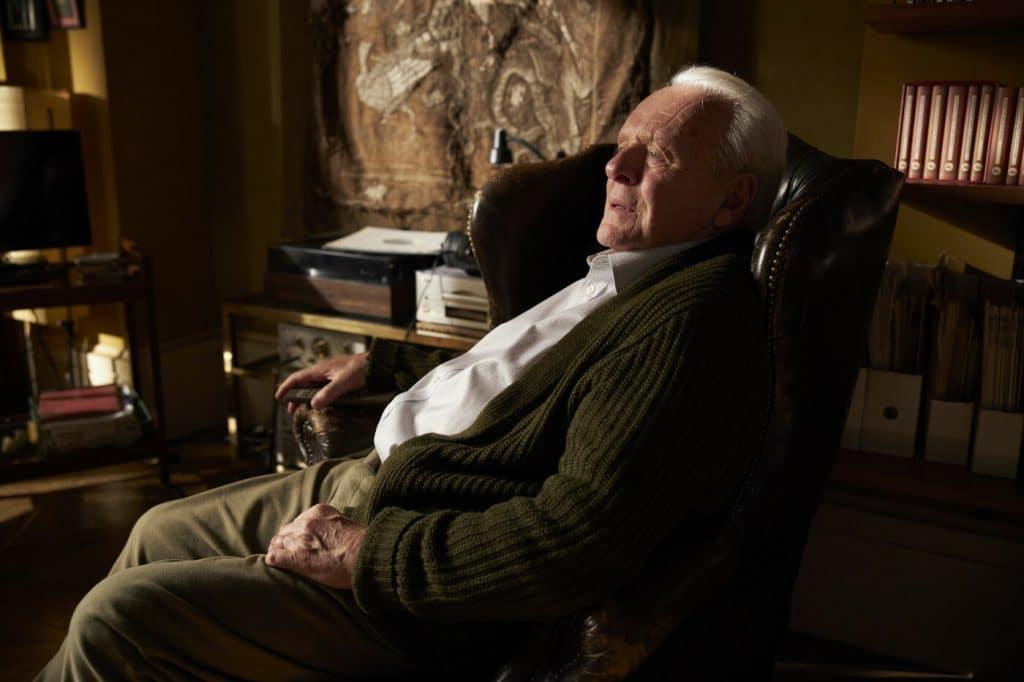 Anthony Hopkins em 'Meu Pai'. Imagem: Ascot Elite Entertainment/Divulgação