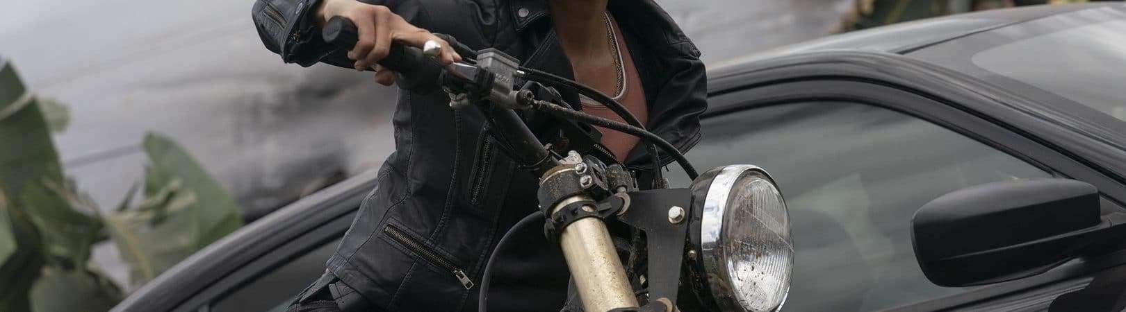 Michelle Rodriguez como Letty em 'F9', dirigido por Justin Lin. Imagem: Universal Pictures/Divulgação